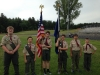 TRHS graduation honor guard June 2016